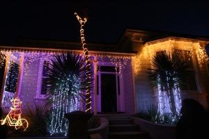 Lights on Franklin Road