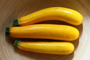 Yellow Zucchini Cupcakes