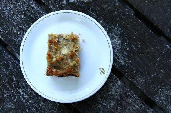Parsnip Walnut Cake