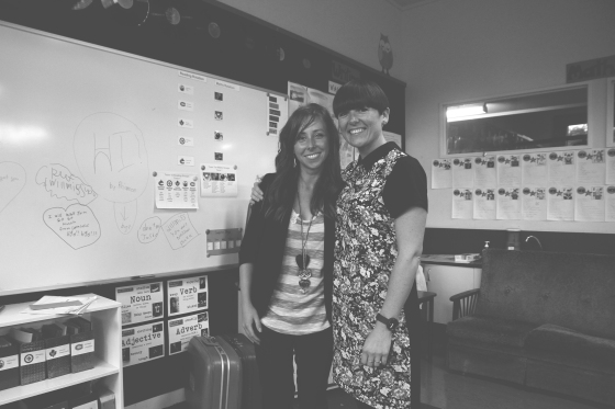 Mrs.Neilson&MissSmith