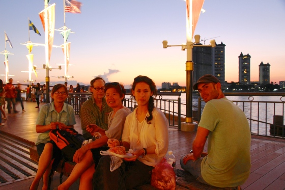 Sunset at Asiatique