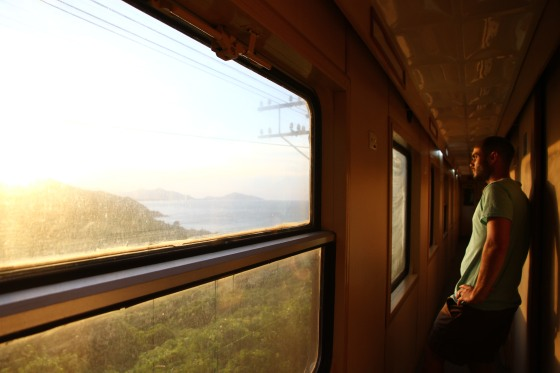 To Hanoi by train