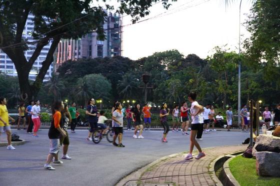 Thai Aerobics Lumpini Park