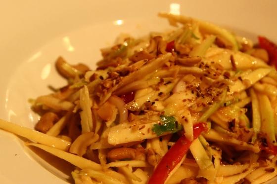 Spicy Mango Salad, Oasis Koh Chang
