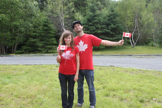 Canada Day in the Bruns