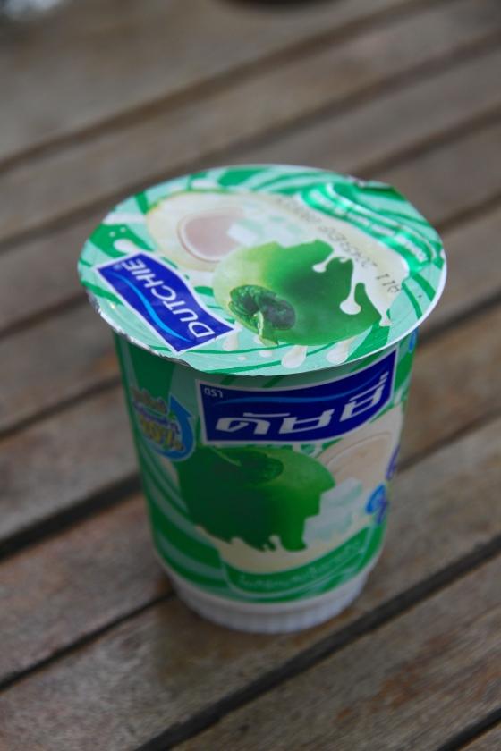 Thai coconut yoghurt