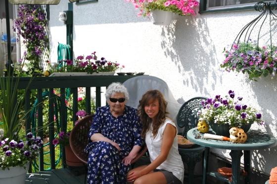 Visiting Nana