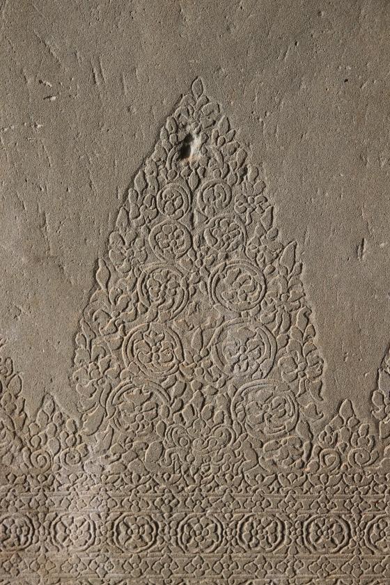 Detailed carvings, Angkor Wat