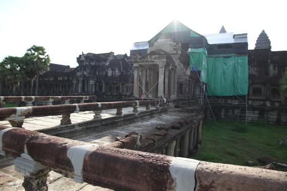 Angkor Wat resorations