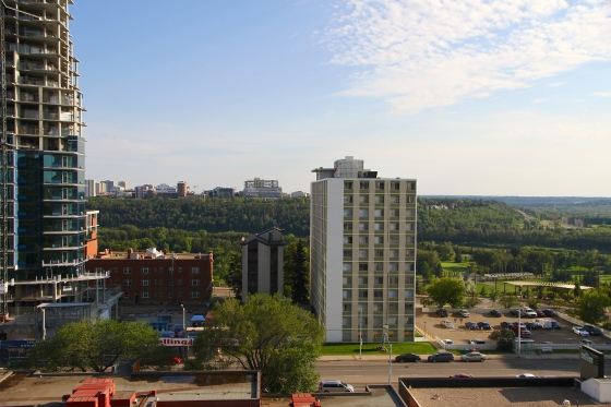 Another view of Edmonton