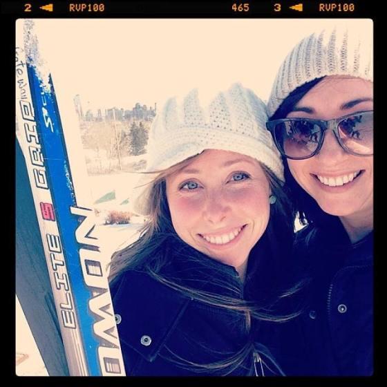 Sisters.skiing