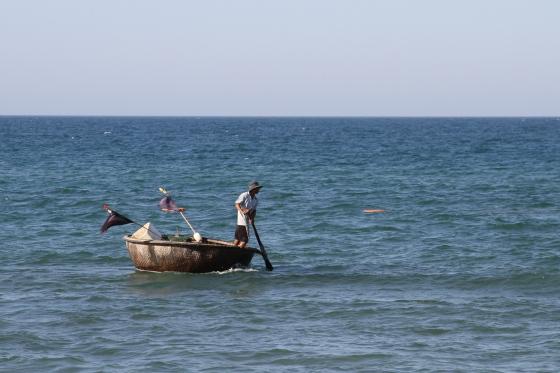 Thung Chai basket boats an bang beach hoi an