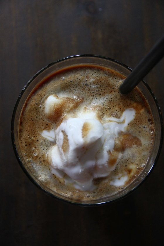 Cong Caphe coconut coffee shake